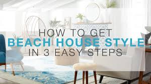 Overstock Com How To Get Beach House Style In 3 Easy Steps Overstock Com Youtube