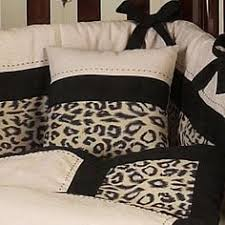 Animal Print Crib Bedding Sets Leopard Print Nursery Theme Crib Bedding Set Nurseries