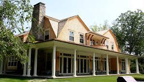 house back porch rockland county shingle style david neff architect