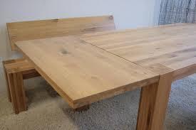 Modernes Esszimmer Eiche Massiv Figo Esstisch Tisch Ansteckplatte 100 Cm Eiche Massiv Geölt