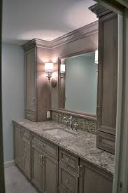 Omega Bathroom Cabinets by Cherry Cabinets By Omega Cabinetry With A Porch Swing Stain Color