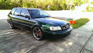 audi 1995 s6 daily turismo 8k green from outer space 1995 audi