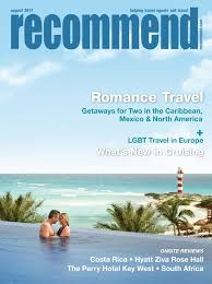 magazine for travel agents recommend