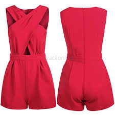 jumpsuit and rompers fashion s v neck playsuit bodycon jumpsuit rompers trousers