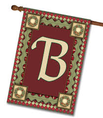 Christmas Rug Christmas Magic Monogram House Flag 28