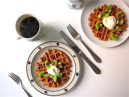 How Much Fiber In Cottage Cheese by Cottage Cheese Oat Waffles Breakfast Recipe