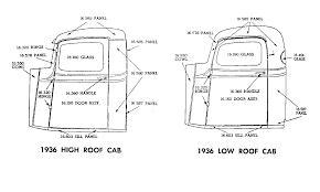 Vintage Ford Truck Body Parts - 1936 u2013 jim carter truck parts