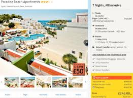 ibiza all inclusive from 218pp incl flights hotel