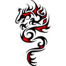 tribal dragon flash tribe tattoos tattoo designs p roblox