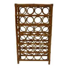 vintage u0026 used mid century modern wine racks chairish