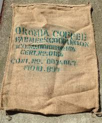 oromia coffee bean burlap sack ethiopia coffee lover gift home sold by homebrewedjewelry