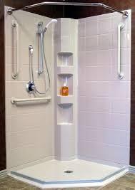 walk in showers for seniors best bath barrier free shower