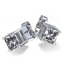 diamond stud earrings for men 32 most beautiful square diamond earrings for men eternity jewelry