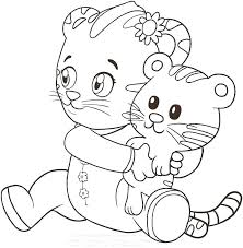 coloring page tiger paw coloring page of tiger yongtjun