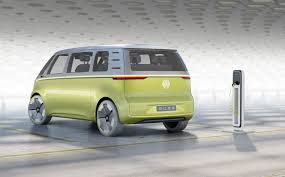 volkswagen old van vw revives its classic camper van with id buzz concept