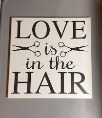 painted canvas sign hair salon decor gift for by sunshinewallart