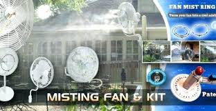outdoor misting fan lowes outdoor misting fan lowes backyard misting fan misting fans for