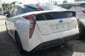 lexus of north miami body shop new 2017 toyota prius four touring hatchback in miami u537295