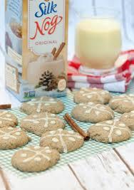dairy free eggnog cookies food done light