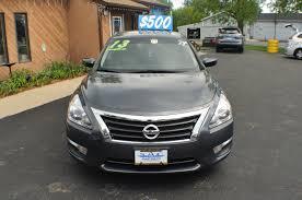 nissan altima coupe chicago 2013 nissan altima s gray used sedan sale