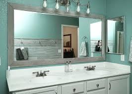 diy bathroom mirror ideas bathroom mirror frame ideas after brushed chrome bathroom mirror