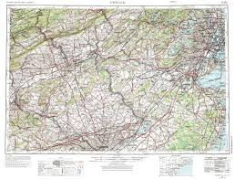 Newark Map New York Topo Maps Topographic Maps 1 250 000