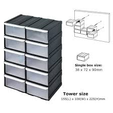 Plastic Tool Storage Containers - storage bins open hopper storage unit shelves bins small tool