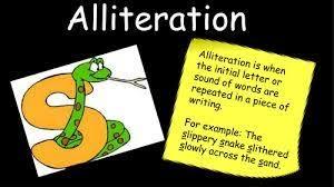 alliteration mrs nogan u0027s class