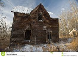 old abandoned farmhouse in winter stock photography image 31193542