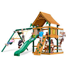 Lowes Swing Sets Furniture Free Standing Tire Swing Set By Gorilla Playsets For