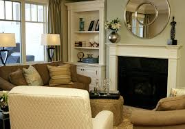 Decorating A Living Room Fireplace With Bookshelves Carameloffers - Family room bookcases