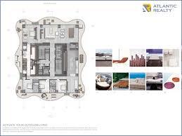 Antilla Floor Plan Regalia New Miami Florida Beach Homes