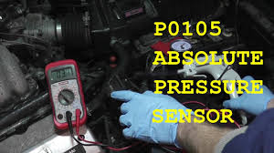 how to test and replace an absolute pressure sensor p0105 hd youtube