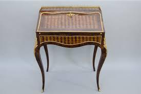 bureau stylé louis xv style bureau à pente desk 1870 to 1880 from l