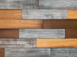 barn wood reclaimed wood wall planks set of 12 mixed colors 5