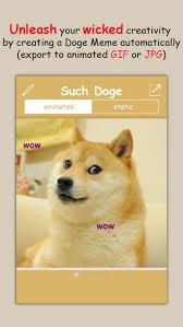 Create A Doge Meme - such doge create your own shiba inu doge meme in seconds by