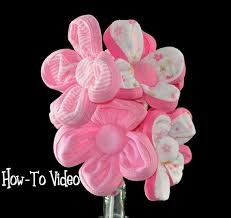 Baby Shower Centerpiece Make How To Make A Washcloth Flower