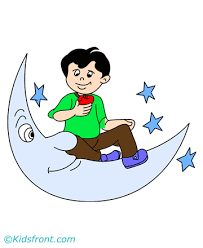 moon and stars coloring pages for kids to color and print