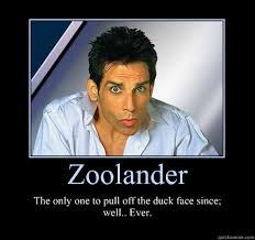 Zoolander Meme - the forefather of the duck face look zoolander giggles