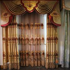 Buy Valance Curtains Curtain With Attached Valance Pattern Decorate The House With