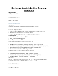 Resume Sample Awards And Recognition by Business Administration Resume Sample Resume Cv Cover Letter