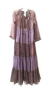 yvonne s sheer maxi hippy dress plum tulip garmentory