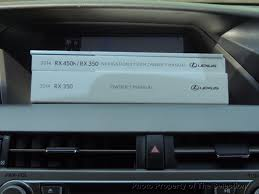 2014 used lexus rx 350 with navigation u0026 blindspot monitor at the