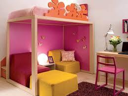 kids bed beautiful white small kid bedroom dark purple flokati
