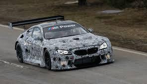 bmw car racing 2016 bmw m6 gt3 race car starts testing