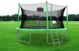 big trampolines