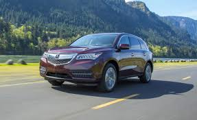 mdx 2014 vs lexus rx 350 2014 acura mdx first drive u2013 review u2013 car and driver