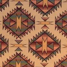 Western Drapery Fabric Sun Star Z 885 Southwest Upholstery Fabric Not Too Bad For The