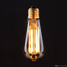 best vintage led filament light bulb 6w 8w 2200k edison golden