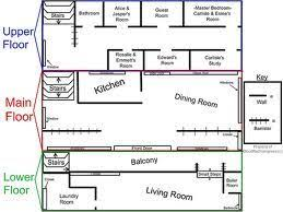 twilight house floor plan cullen house floor plan cant believe they have assigned bed rooms